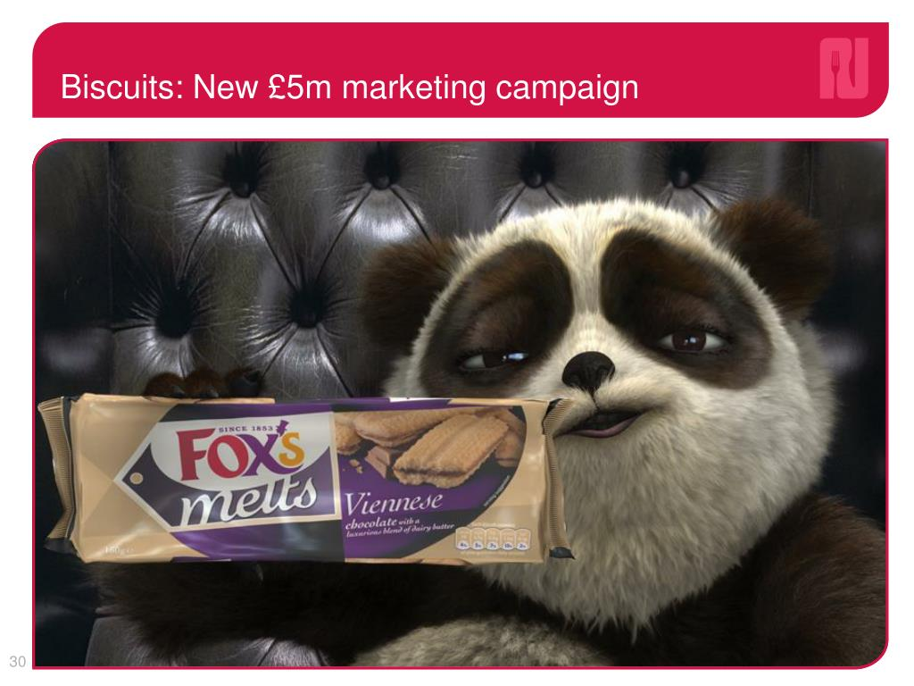 Biscuits: New £5m marketing campaign