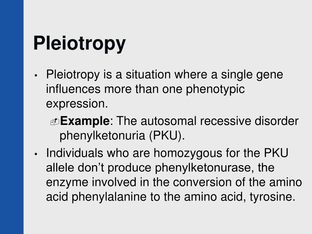 Pleiotropy