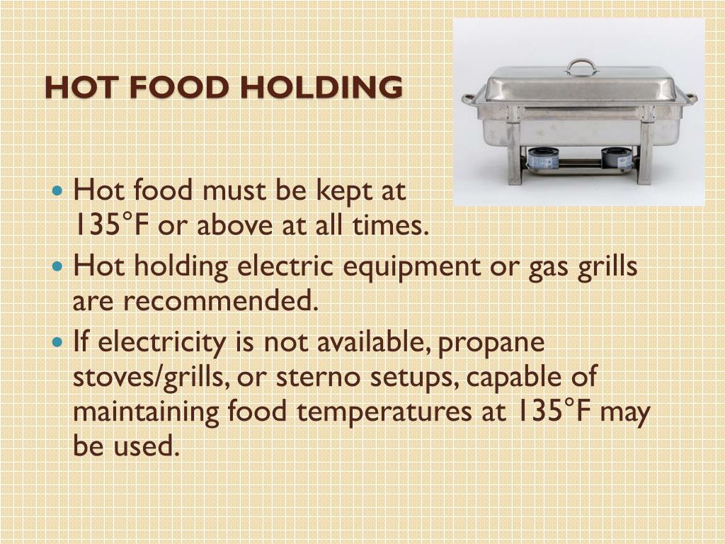 Hot Food Holding