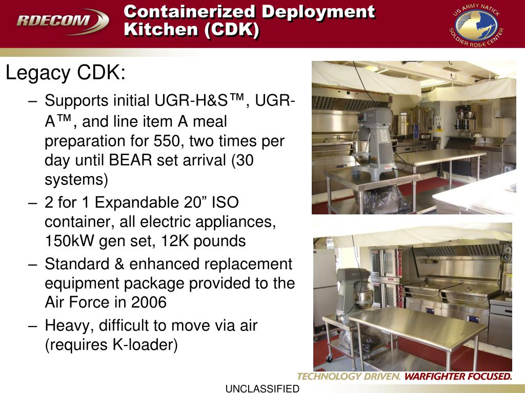Containerized Deployment Kitchen (CDK)