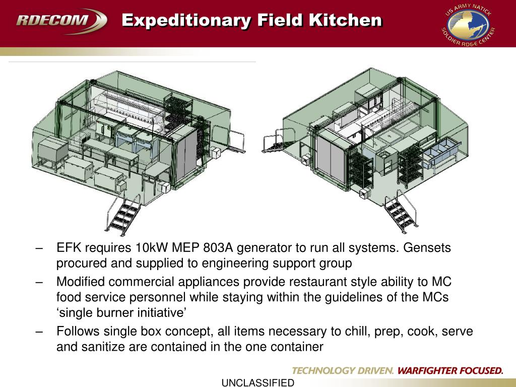 Expeditionary Field Kitchen