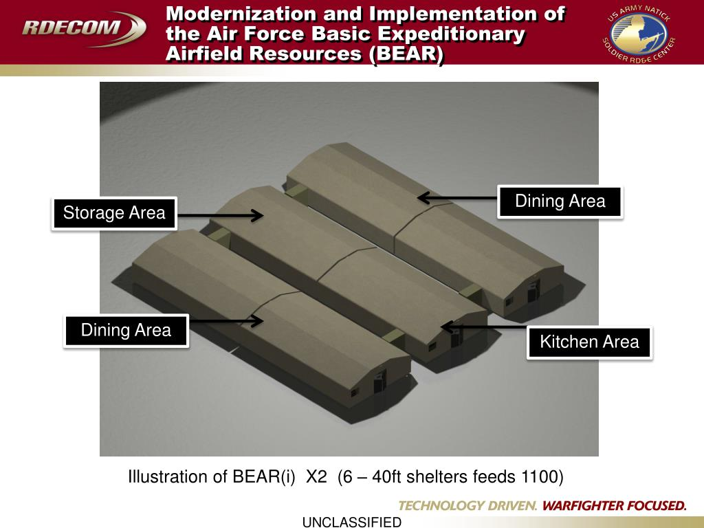 Modernization and Implementation of the Air Force Basic Expeditionary Airfield Resources (BEAR)