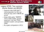 single pallet expeditionary kitchen system spek