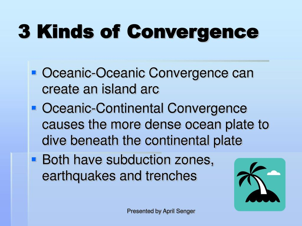 3 Kinds of Convergence