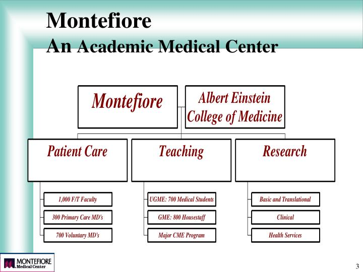 Montefiore an academic medical center