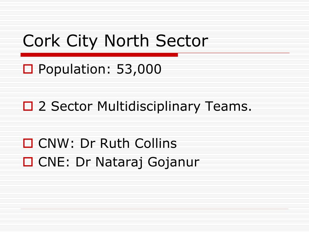 Cork City North Sector