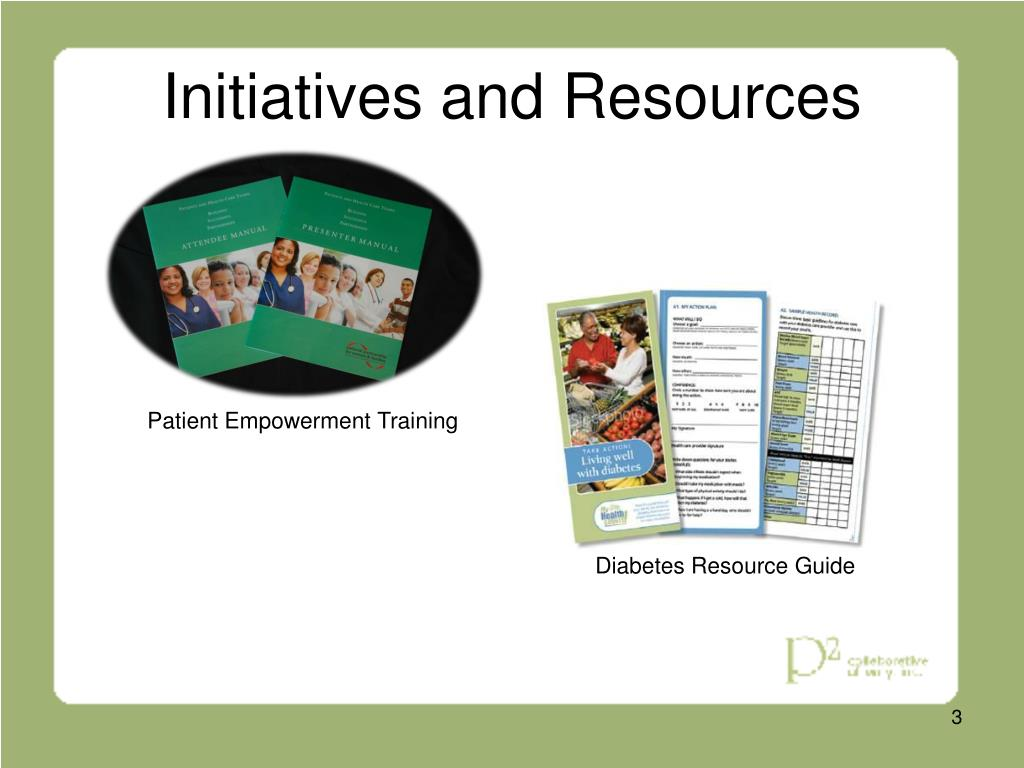 Initiatives and Resources