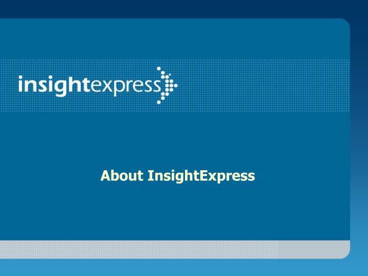 About InsightExpress