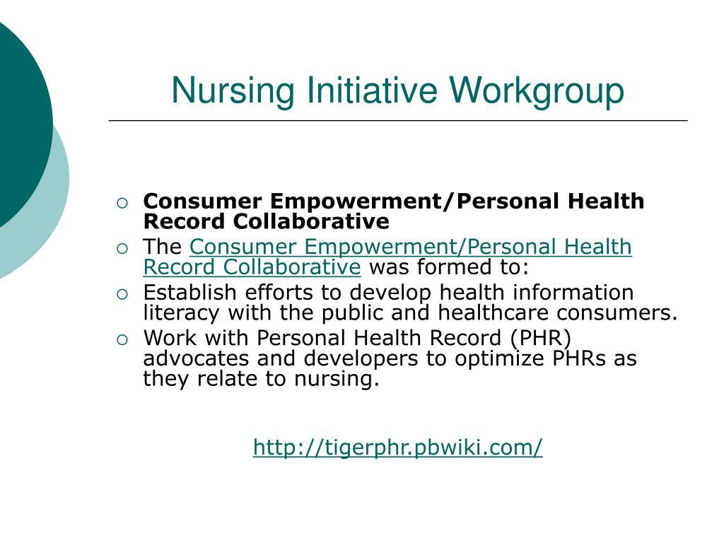 Nursing Initiative Workgroup