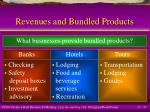 revenues and bundled products37