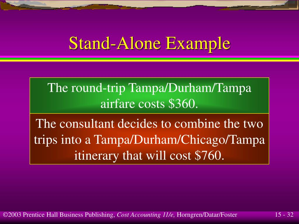 Stand-Alone Example