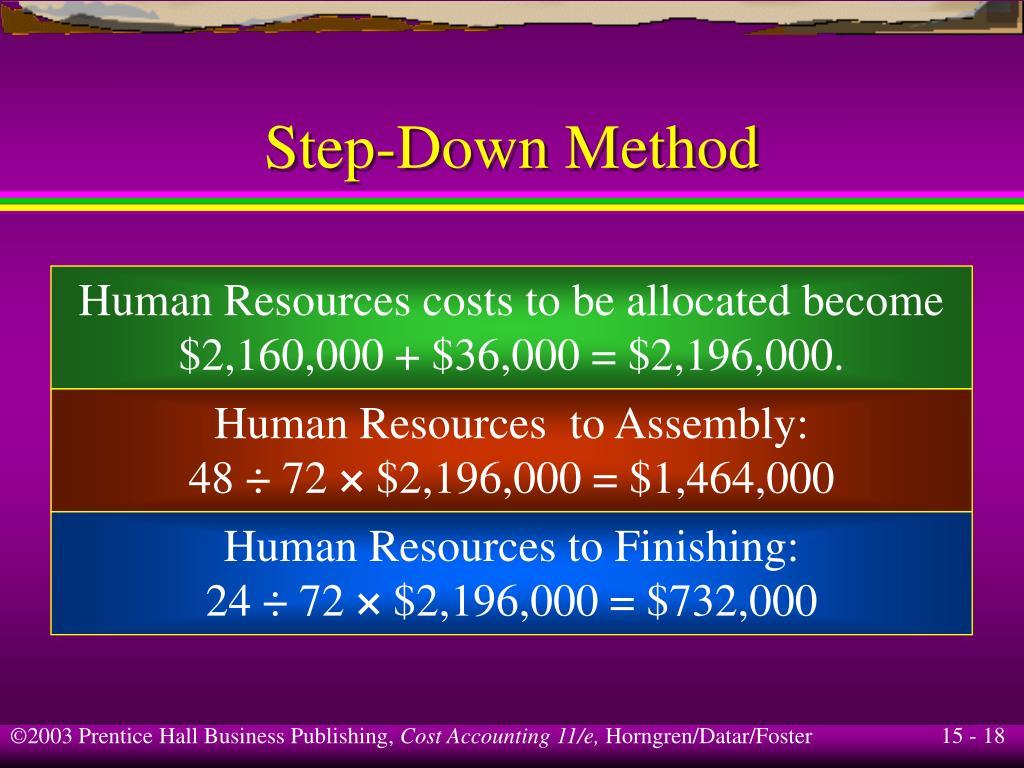 Step-Down Method