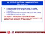 nai second national communications ghg inventory5