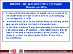 unfccc nai ghg inventory software general operation24