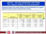 unfccc nai ghg inventory software key category analysis 2 level assessment106