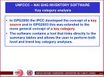 unfccc nai ghg inventory software key category analysis