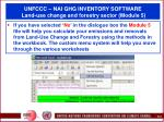 unfccc nai ghg inventory software land use change and forestry sector module 5