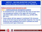 unfccc nai ghg inventory software land use change and forestry sector module 566
