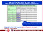 unfccc nai ghg inventory software land use land use change and forestry sector module 5b73