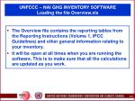 unfccc nai ghg inventory software loading the file overview xls35