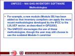 unfccc nai ghg inventory software methodologies11