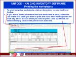unfccc nai ghg inventory software printing the worksheets