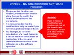 unfccc nai ghg inventory software protection116