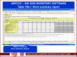 unfccc nai ghg inventory software table 7bs1 short summary report