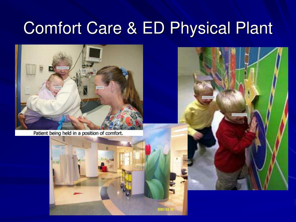 Comfort Care & ED Physical Plant