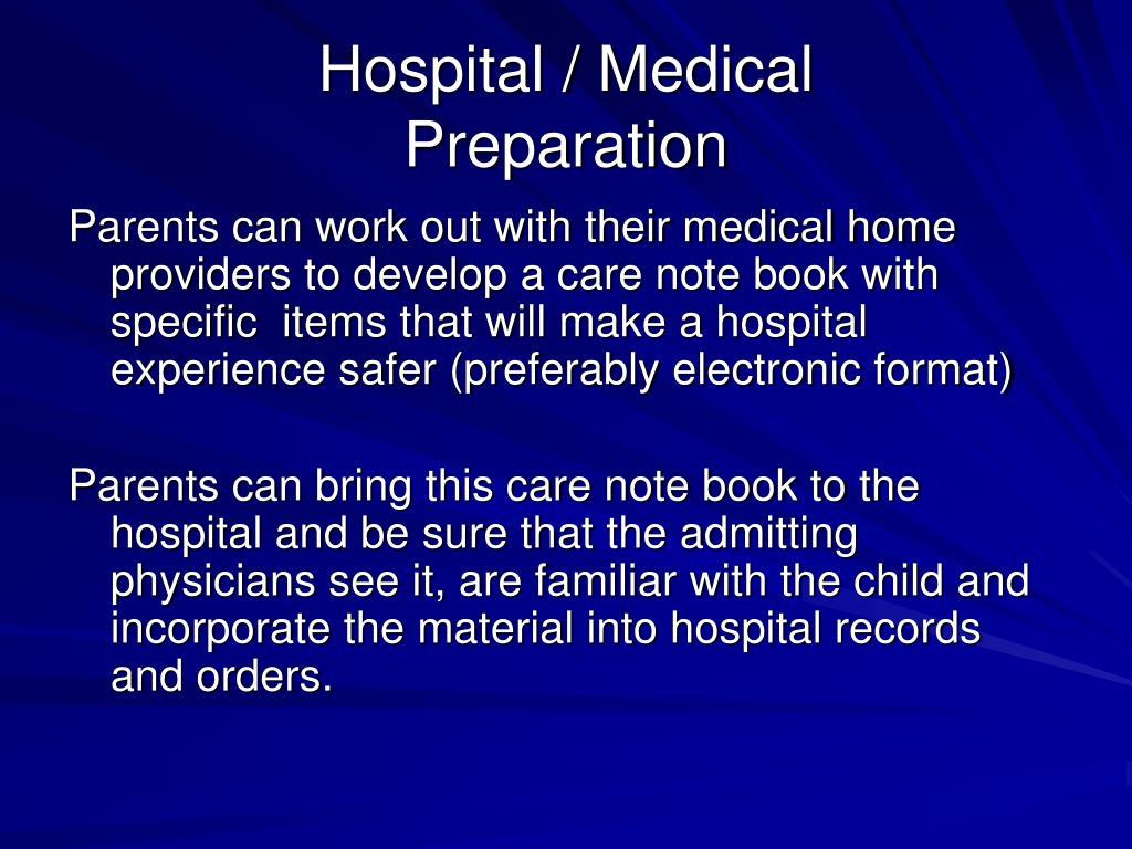 Hospital / Medical