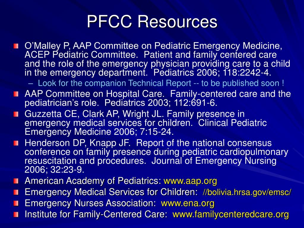 PFCC Resources