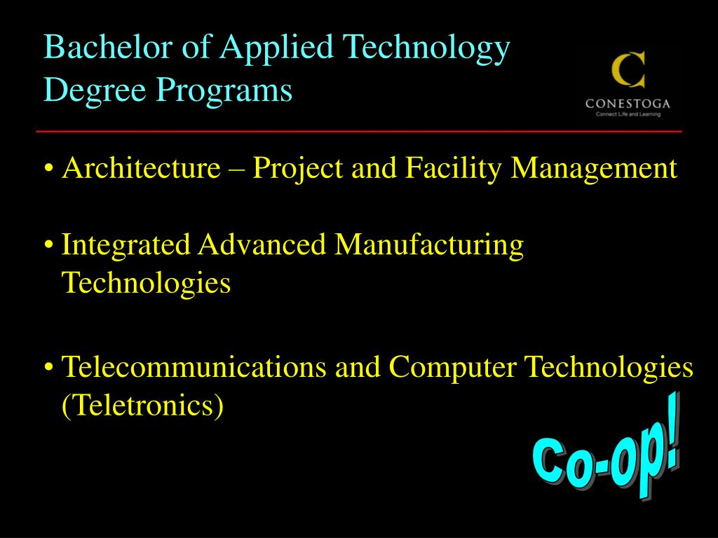 Bachelor of Applied Technology Degree Programs