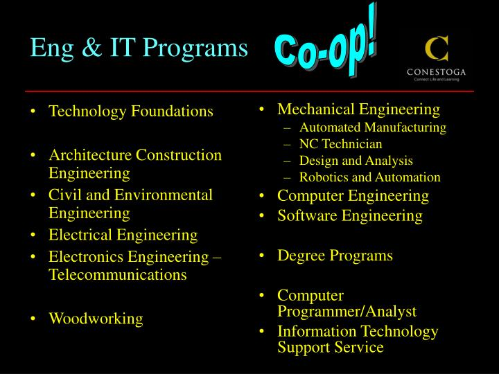Eng it programs