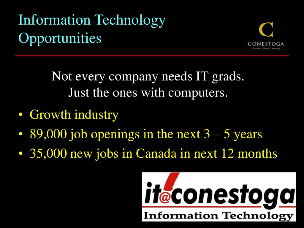 Information Technology Opportunities