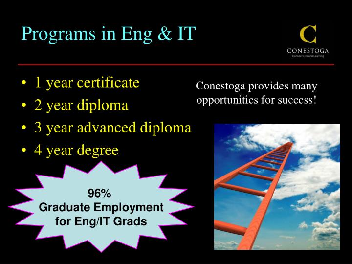 Programs in eng it