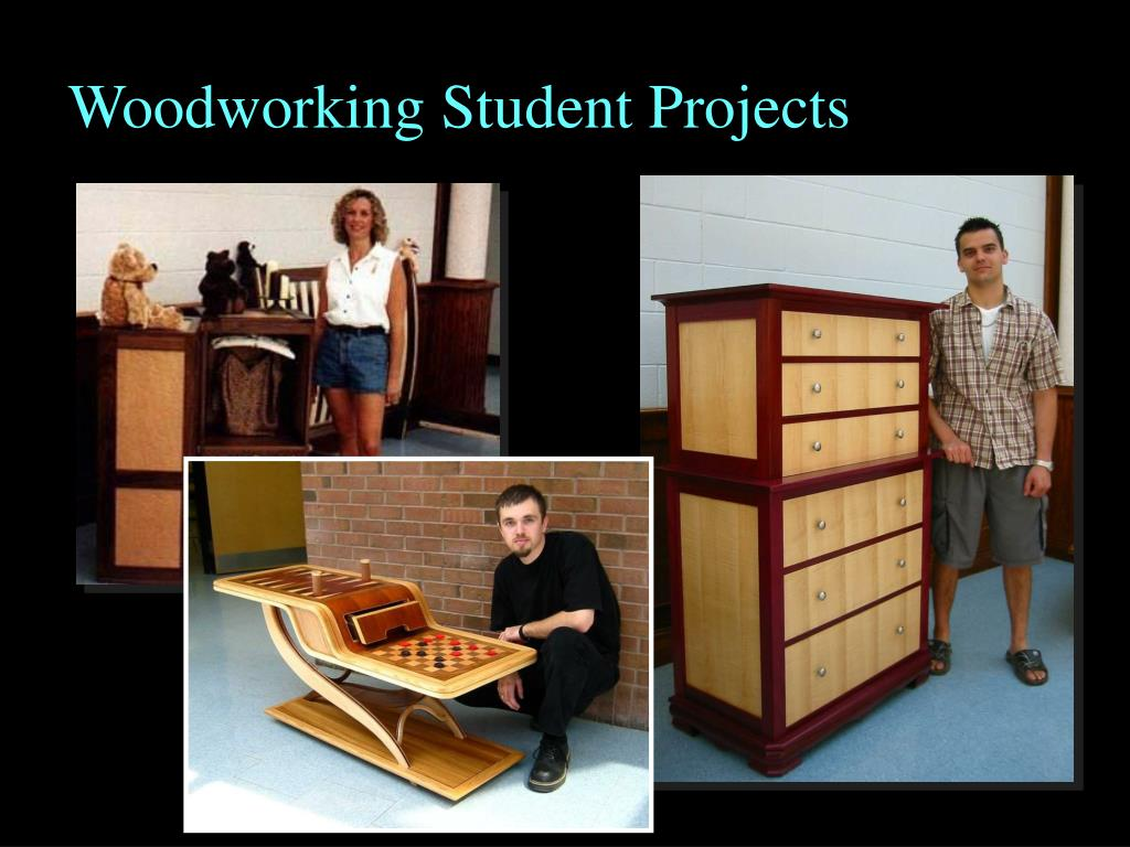 Woodworking Student Projects