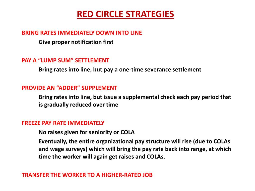 RED CIRCLE STRATEGIES