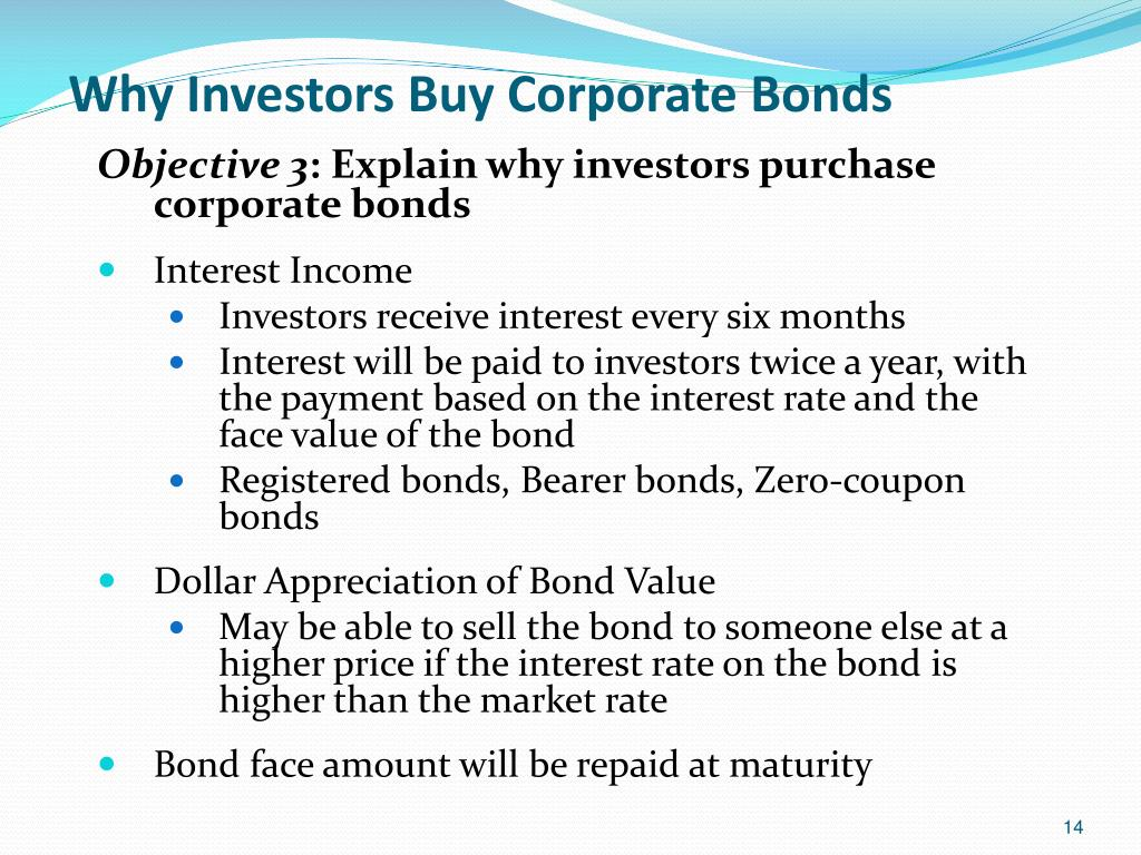 Why Investors Buy Corporate Bonds