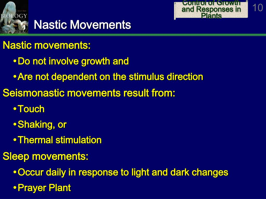 Nastic Movements