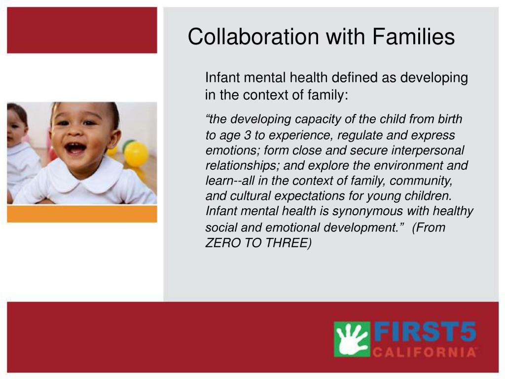 Collaboration with Families
