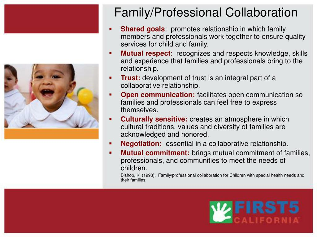 Family/Professional Collaboration