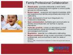 family professional collaboration