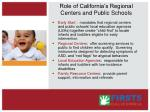 role of california s regional centers and public schools62