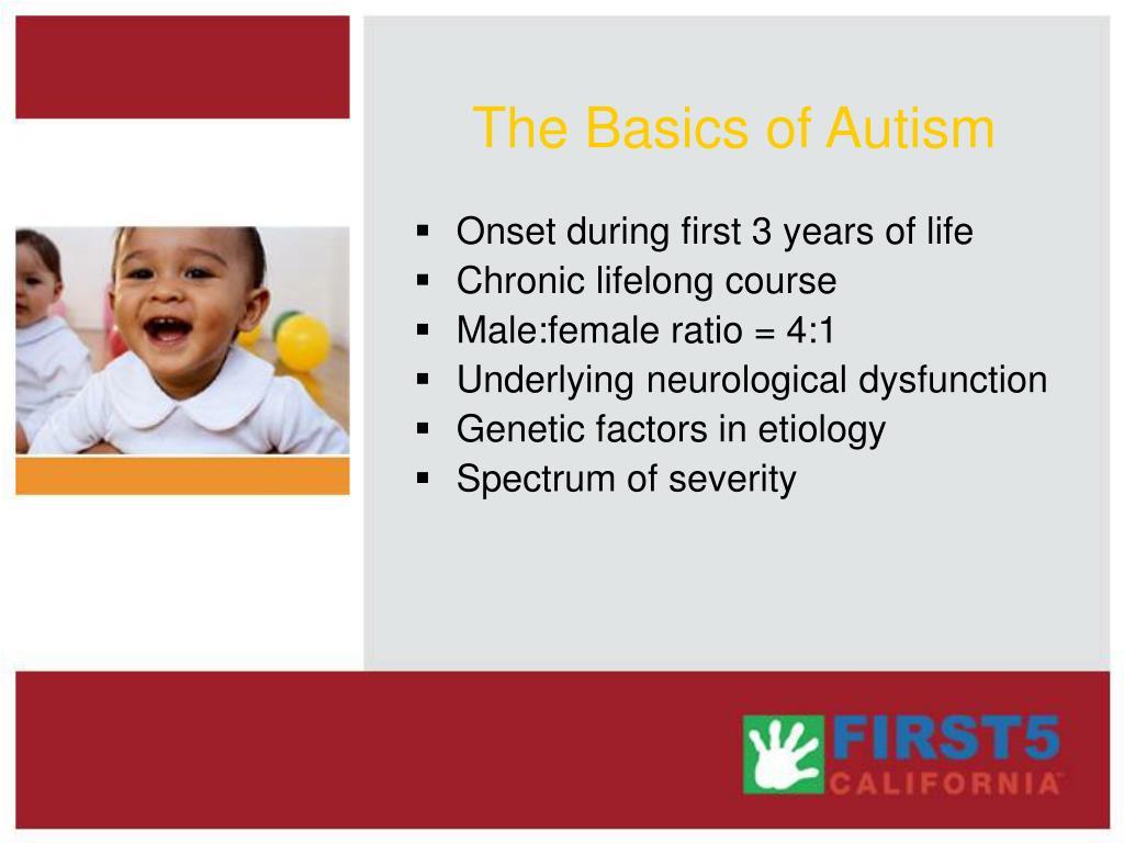 The Basics of Autism