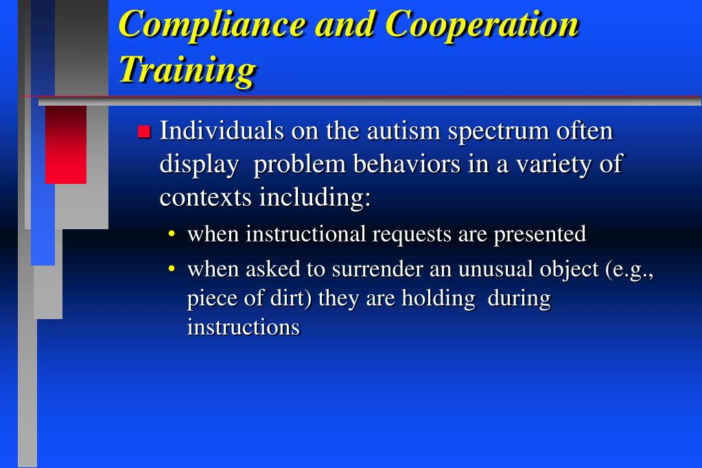 Compliance and Cooperation Training
