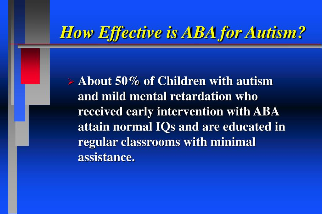 How Effective is ABA for Autism?