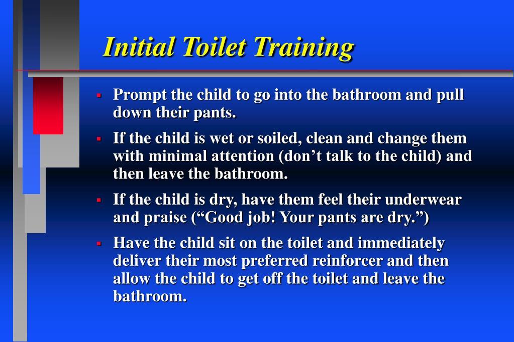 Initial Toilet Training
