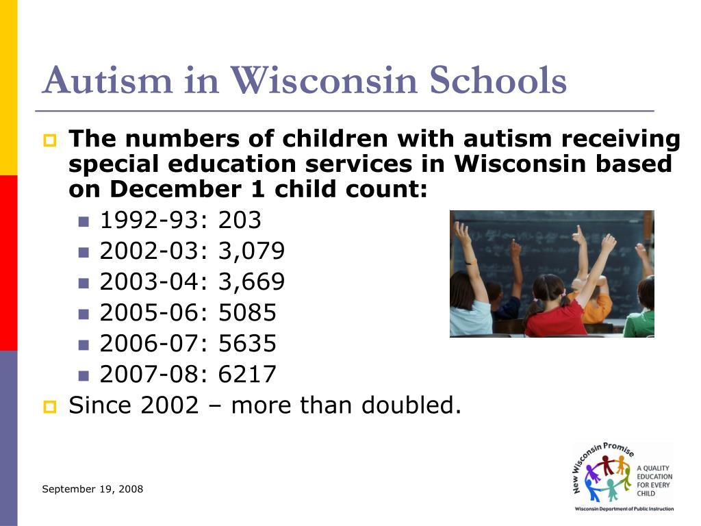 Autism in Wisconsin Schools