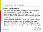 neurology of autism19