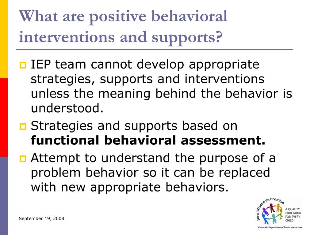 What are positive behavioral interventions and supports?